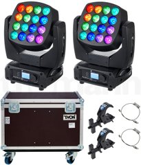 Moving Lights LED Stairville Pixel Beam 160 Tour Bundle
